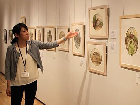 秋田県立美術館(秋田市中通1)で始まった絵本作家の作品展「エロール・ル・カインの魔術展」