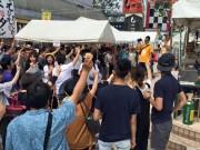 秋田駅前で「クラフトビアフェス」今年も 36都道府県の43醸造所が出品