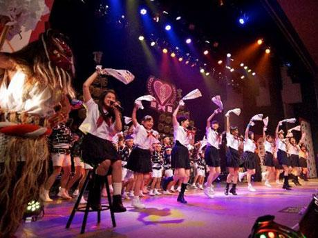 アイドルグループ「私立恵比寿中学」のコンサートイベント「秋田分校」(写真は2016年)