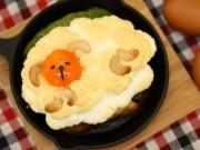 秋田の鶏卵専門店が限定メニュー「エッグインクラウド」 メレンゲで羊かたどり