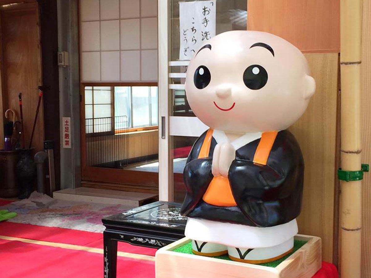 寺院向け人形「ありがとう小僧さん」