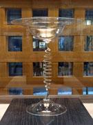「風にそよぐ」ワイングラス、120年ぶりに復元 秋田のガラス工房で公開
