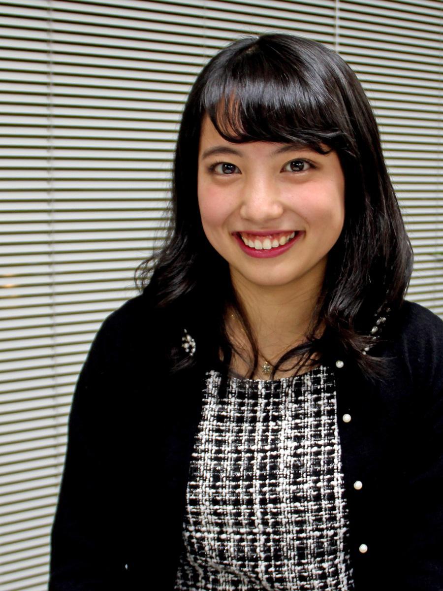 10代としては唯一、「ミス・ユニバース秋田大会」ファイナリストに選ばれた秋田高校3年の佐藤結夏さん