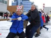 秋田で新春「綱引き」開催へ 大町・通町商店街対抗で10回目