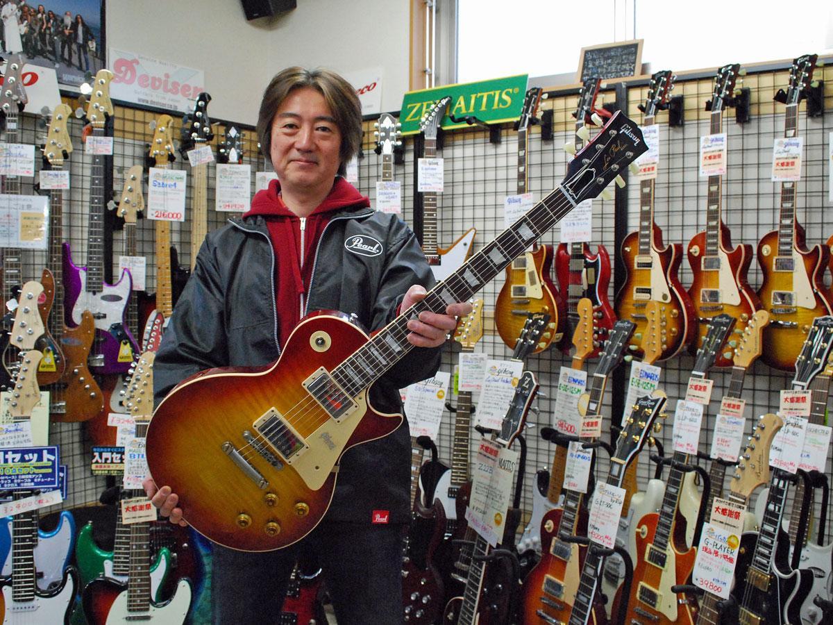 10周年を迎えた秋田市の楽器店「ファンミュージックシステムズ」の矢口正勝社長