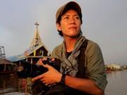 秋田のアートスペースで写真トーク フォトジャーナリストが「カンボジアの現状」伝える