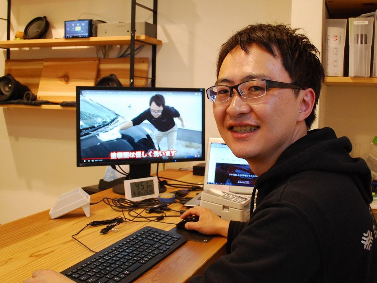 「洗車」動画を制作・公開する村上篤さん
