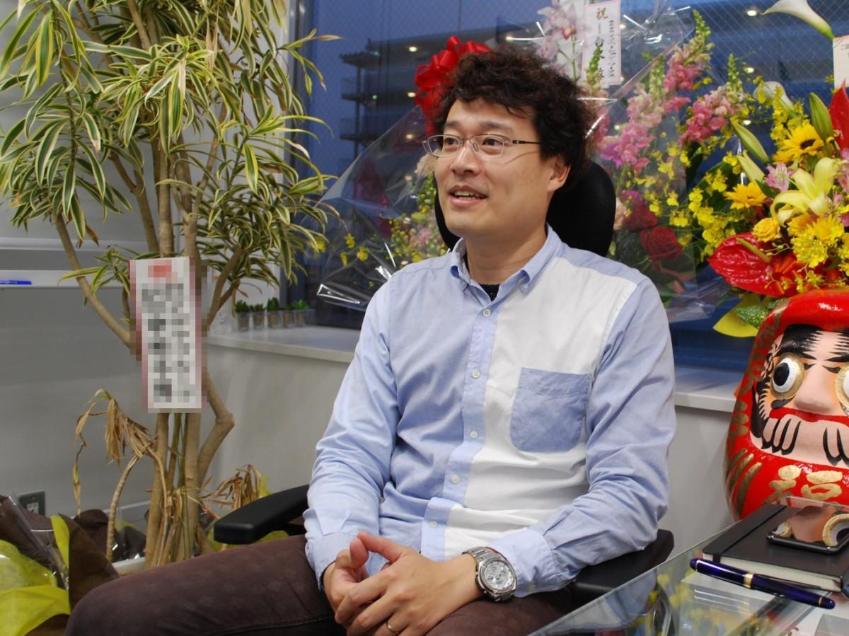 「娯楽分野の経験を生かした新事業を手掛けたい」と話す北嶋友暁さん