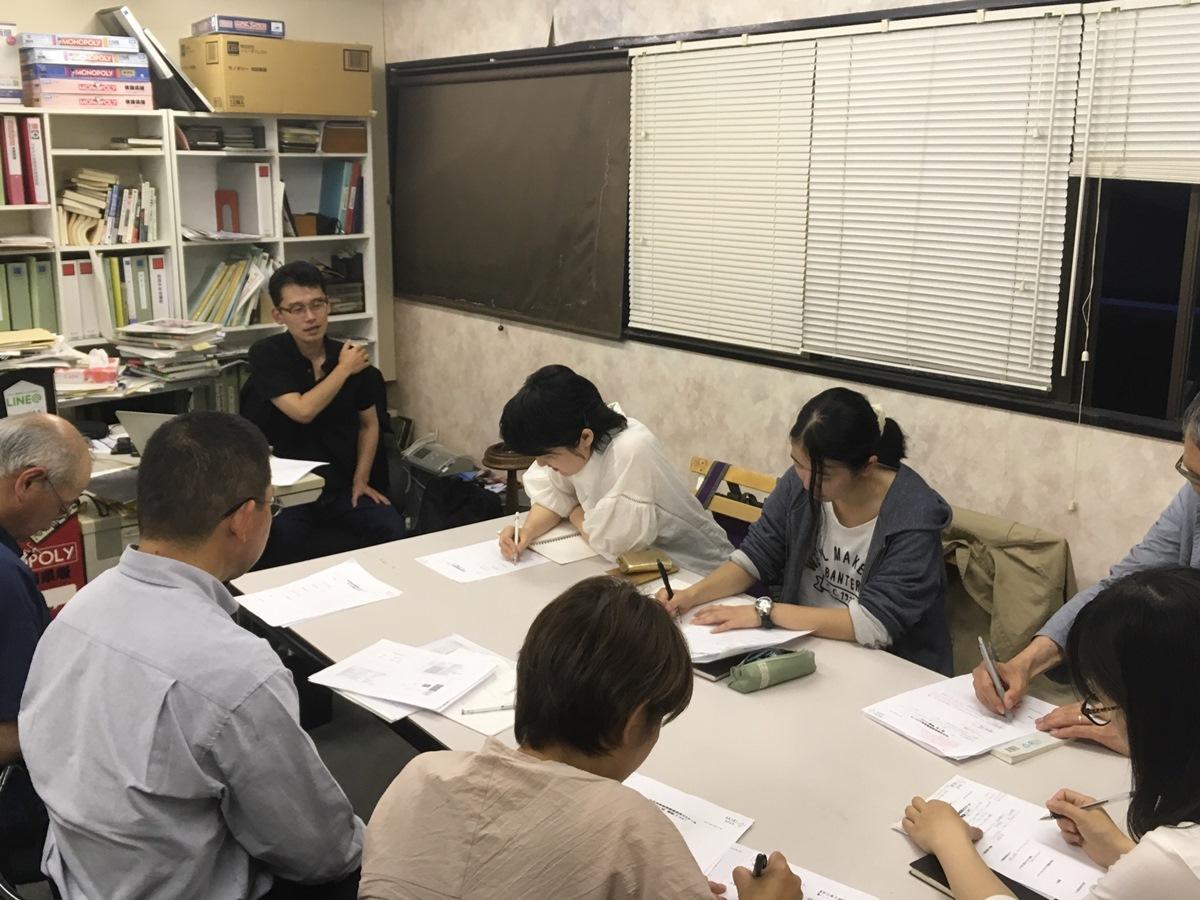 「秋田芸術新聞編集部員ゼミナール」の様子(2017年)