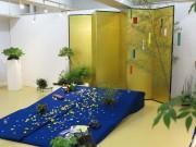 秋田のアートスペースで「室礼と盆栽」展 市内夫妻が初夏を表現