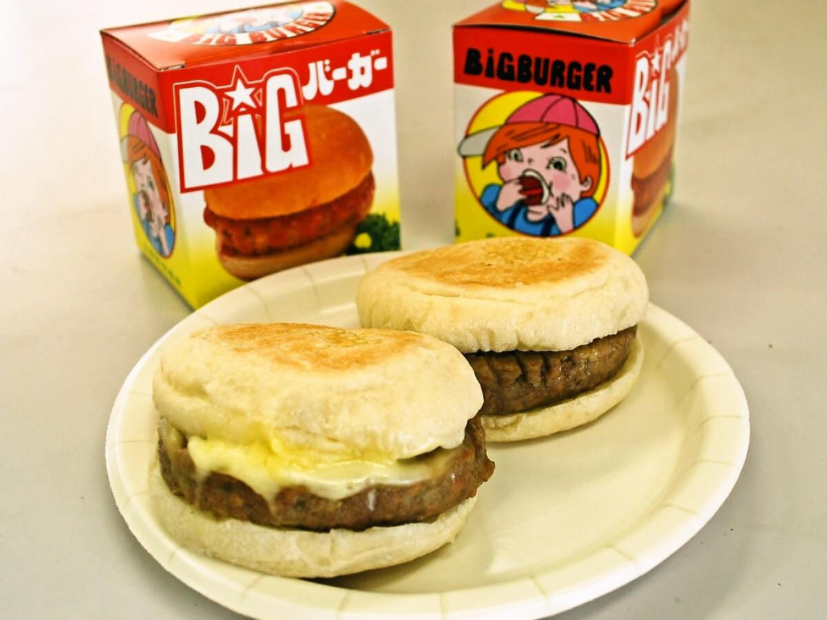 店舗販売もされる「自販機向けハンバーガー」