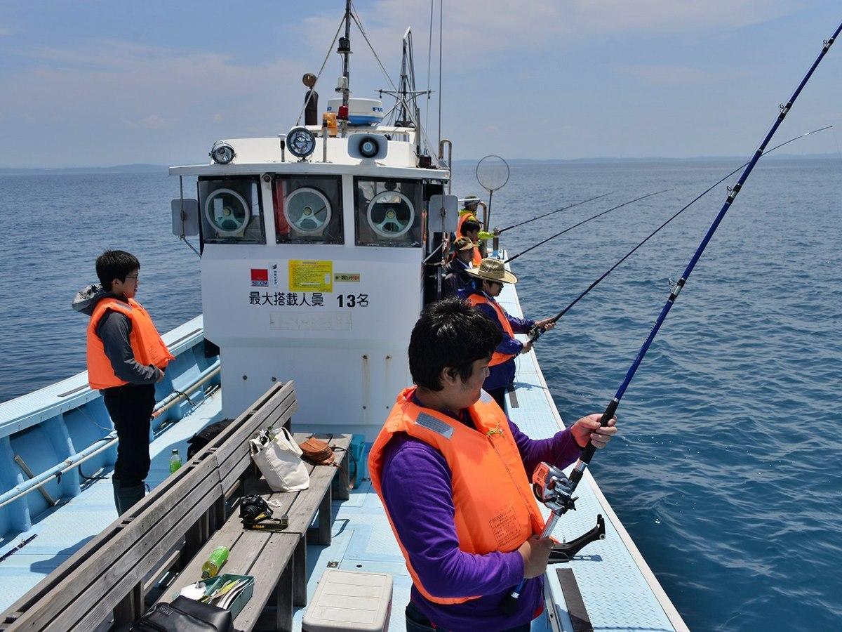秋田県の「漁業就業体験」の様子(写真は2017年)