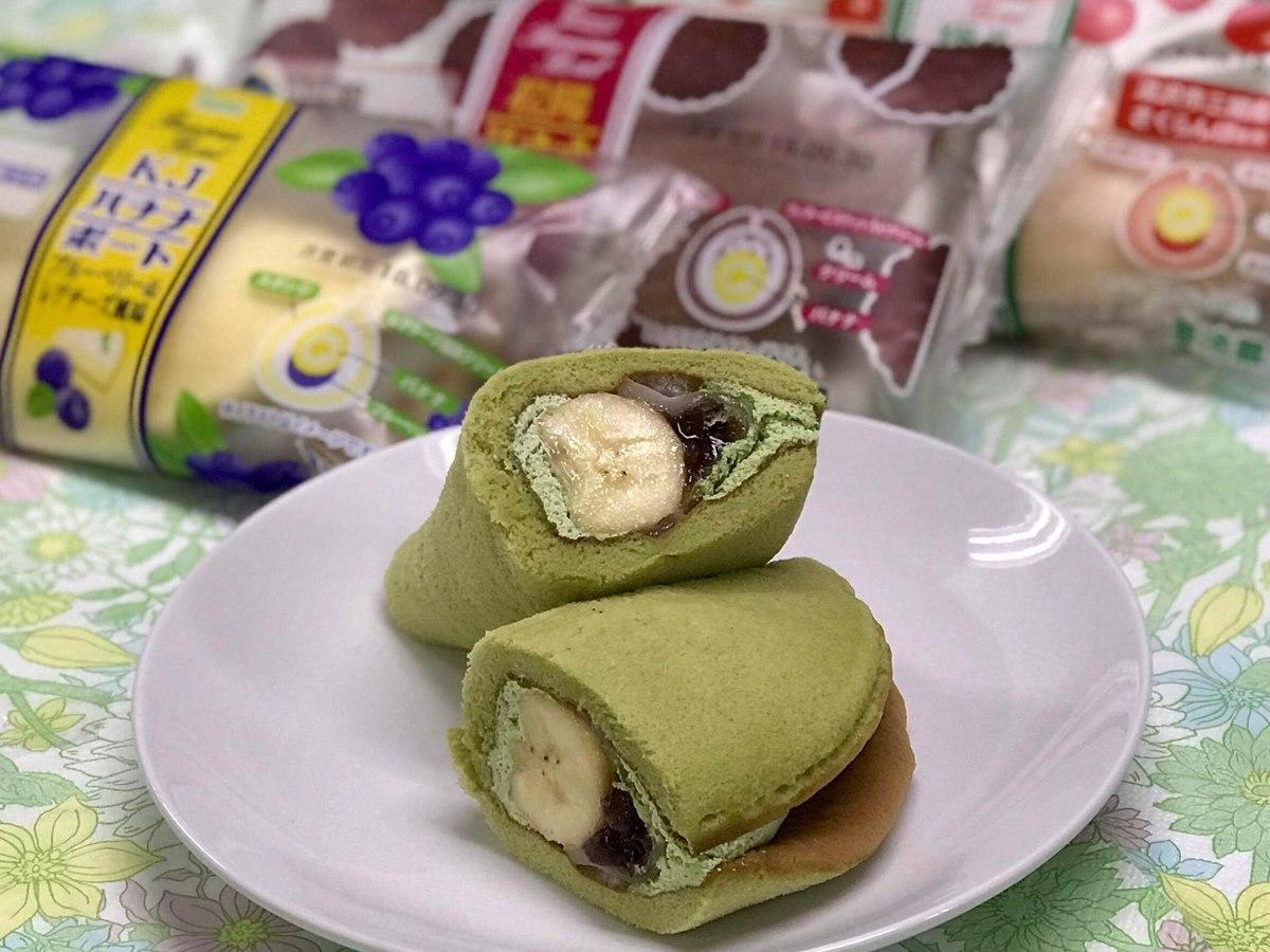 商業系学科のある秋田県内の高校4校が開発した菓子パン「バナナボート」