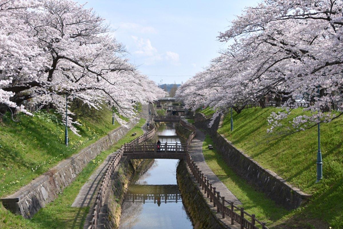 秋田市がオープンデータ化の一環で提供を始めた写真画像(秋田市新屋大川端)