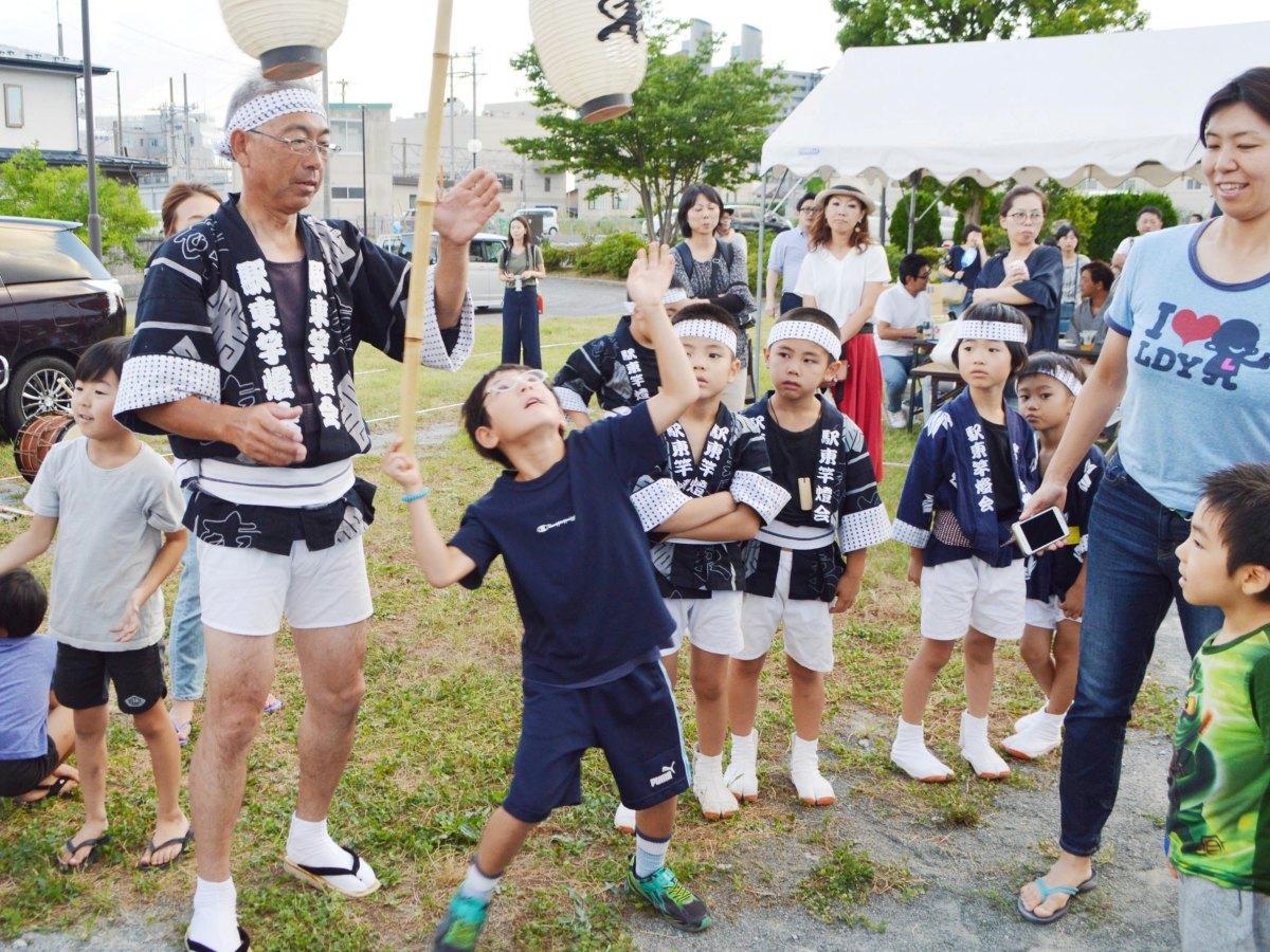 「駅東夏祭り」の様子(写真は昨年)