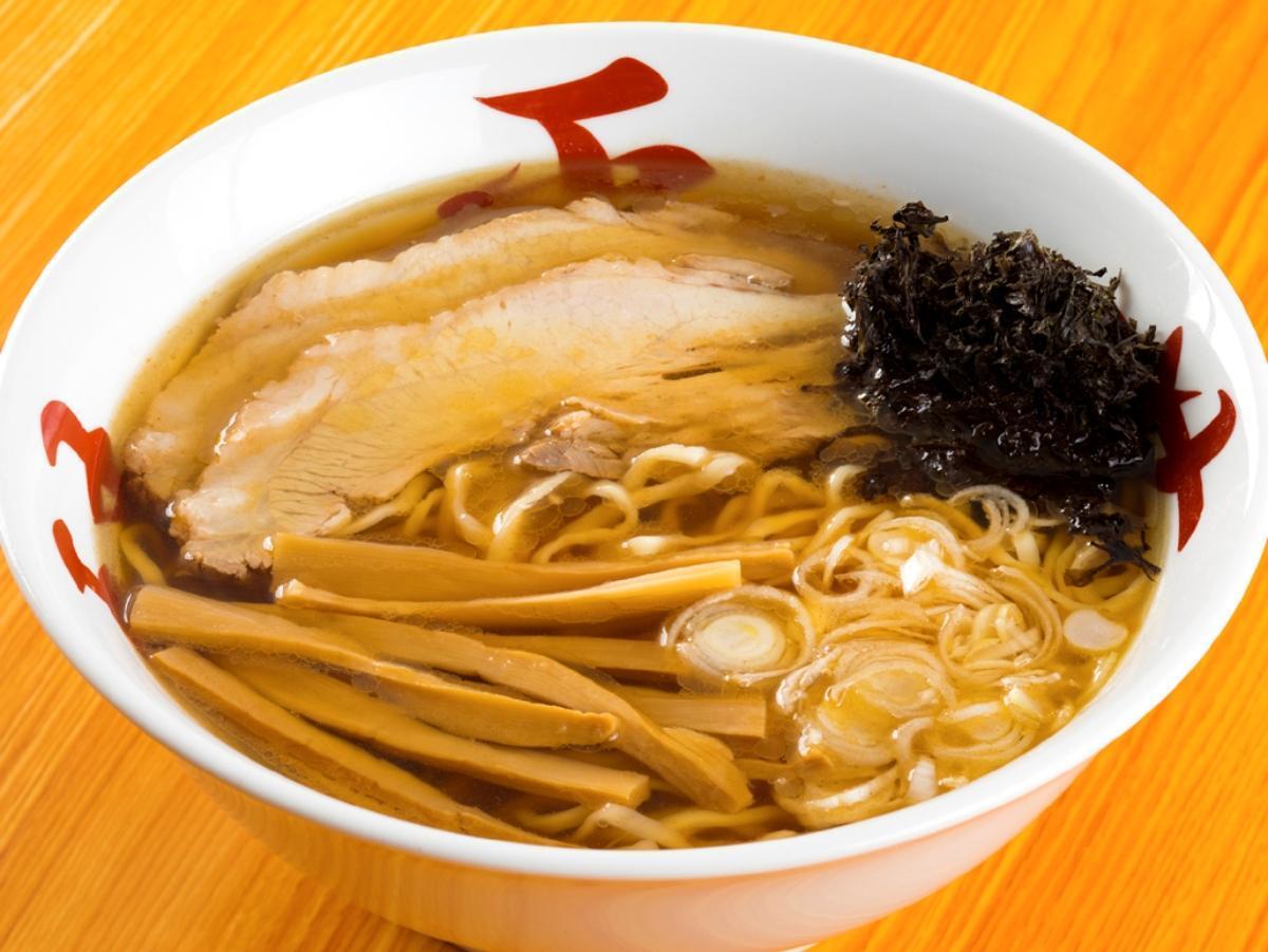 「琴平荘×比内地鶏 中華そば」(調理例)