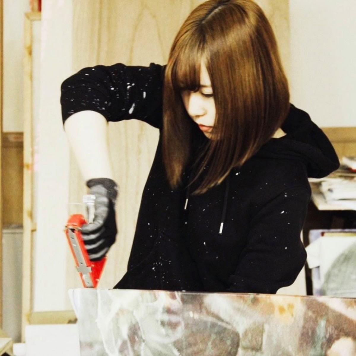 秋田公立美術大学の卒業生としては初めて「アートアワードトーキョー」一次選考を通過した大越円香さん