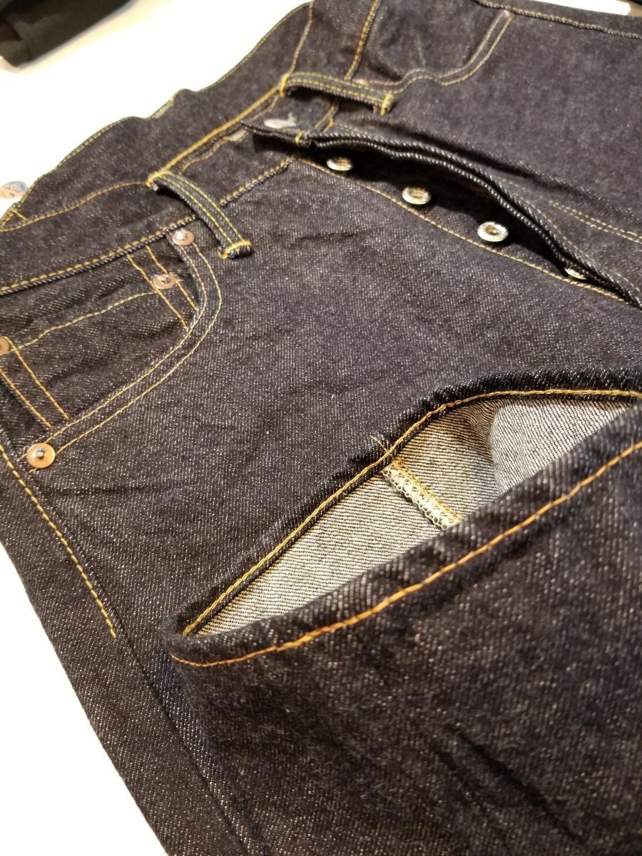秋田市のセレクトショップで取り扱いを始めた「なまはげジーンズ」