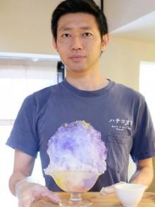 秋田のかき氷専門店が「七夕」限定メニュー 色と味で夏の夜空をイメージ