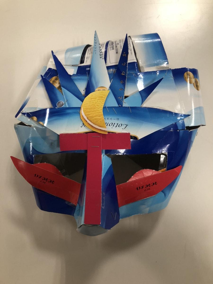 トングマンのマスク