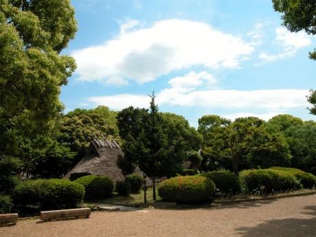 屋外は史跡公園として整備されている