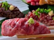 尼崎に肉のすしメーンのビストロ 生ビールは「マスターズドリーム」