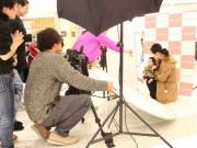 イオンモール伊丹昆陽でキッズモデルオーディション プロカメラマンによる撮影も