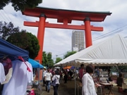 尼崎えびす神社で「手づくり市」 ライブやビアガーデンも