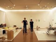 伊丹市立美術館で画家と彫刻家の2人展 開館30周年記念で