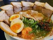 尼崎にしょうゆラーメン「麺屋壱志」 無化調スープと3種のチャーシュー
