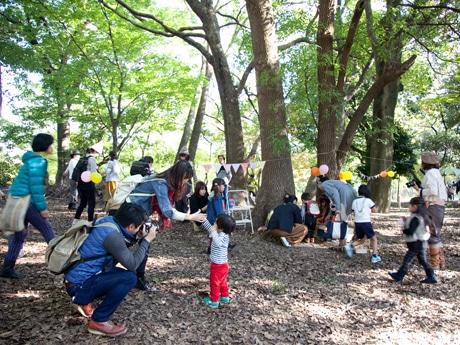 尼崎・猪名川公園で「どんぐりの妖精探し」 インスタで写真コンテストも