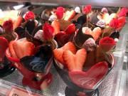 尼崎の「シェ・ノグチ」でバレンタイン限定品 マカロン、エクレア、ココットも