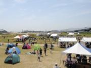 昨年の様子。広大な会場で思い思いに文化祭を満喫