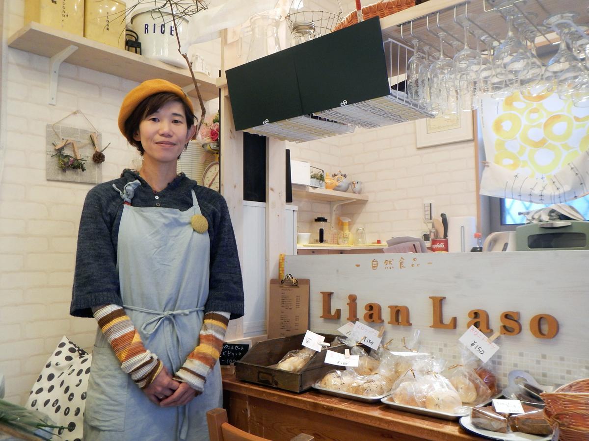 今井さんはあまがさきキューズモールで定期開催する「わいわいマルシェ」の仕掛け人でもある
