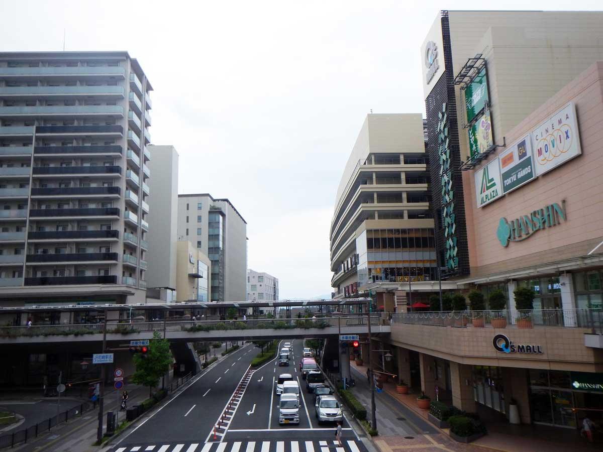 尼崎市が「本当に住みやすい街大賞2018in関西」で1位に(JR尼崎駅前周辺の風景)