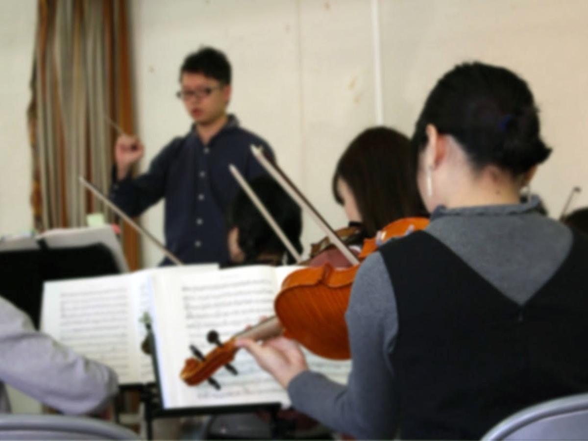 阪神学生オーケストラの練習風景