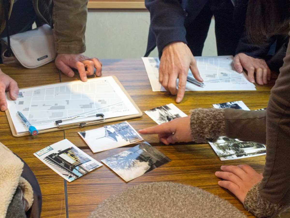 昨年は古写真から現在の場所を探し出す謎解きゲームを開催(CC BY-SA)