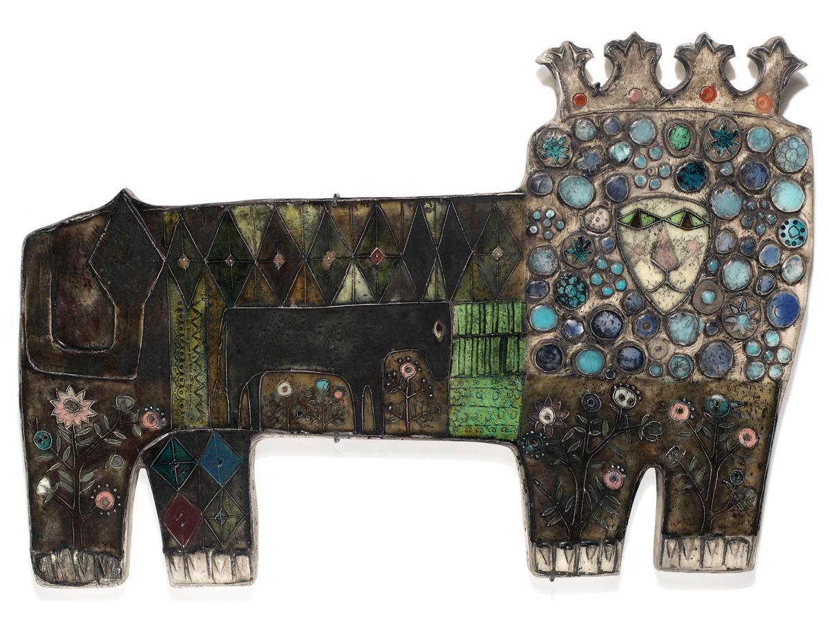 「ライオンに化けたロバ」1957年 Tapio Wirkkala Rut Bryk Foundation's Collection / EMMA - Espoo Museum of Modern Art © KUVASTO, Helsinki & JASPAR, Tokyo, 2018 C2531