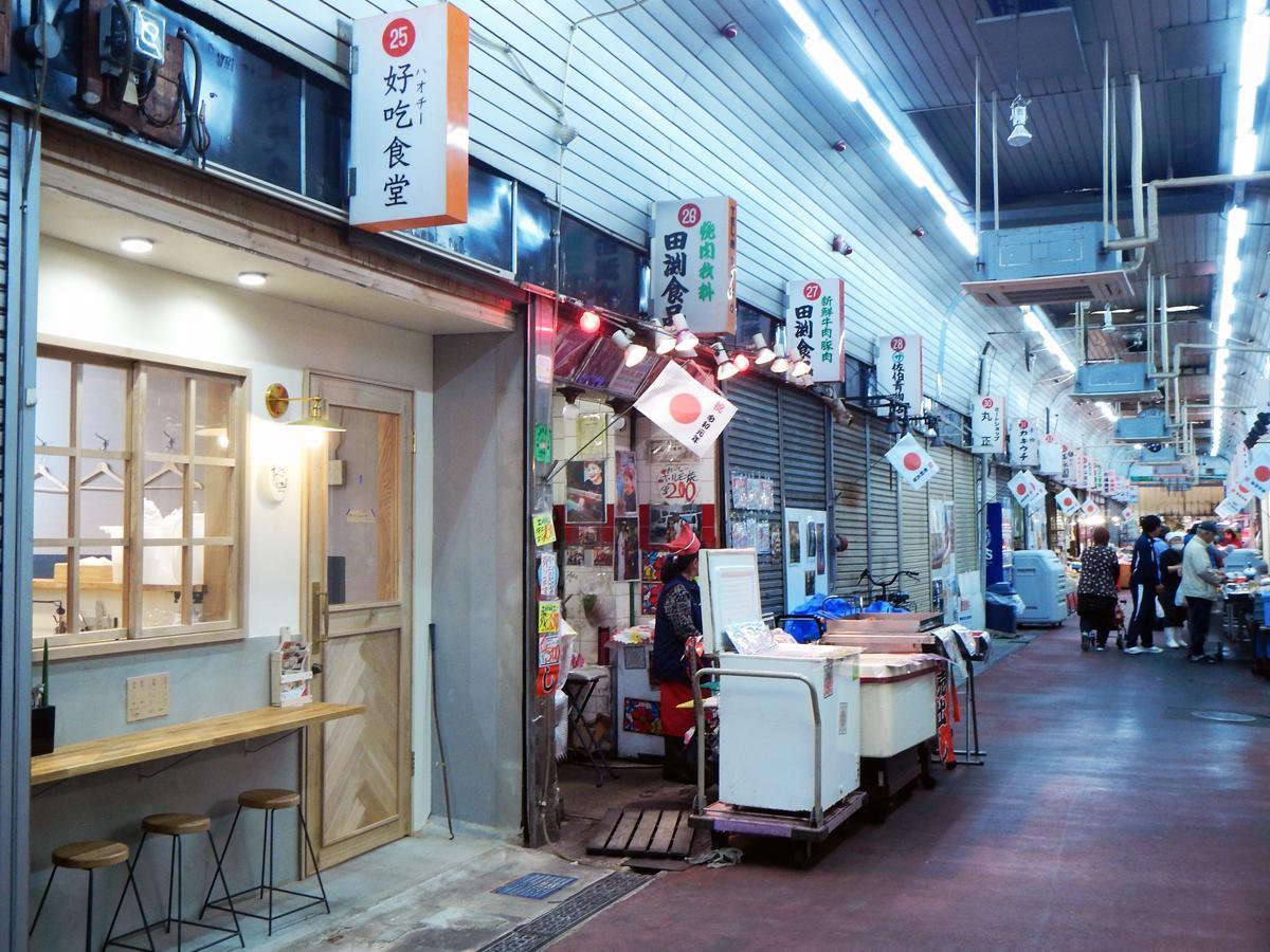 戦後から続く杭瀬中市場に出現した新スポット
