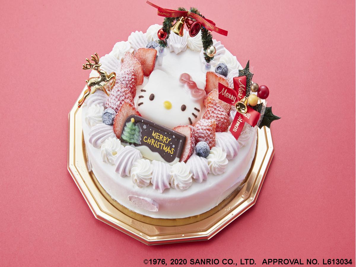 「ハローキティ クリスマスケーキ」。「『今年も楽しみにしていた』との声を頂いている」と担当者