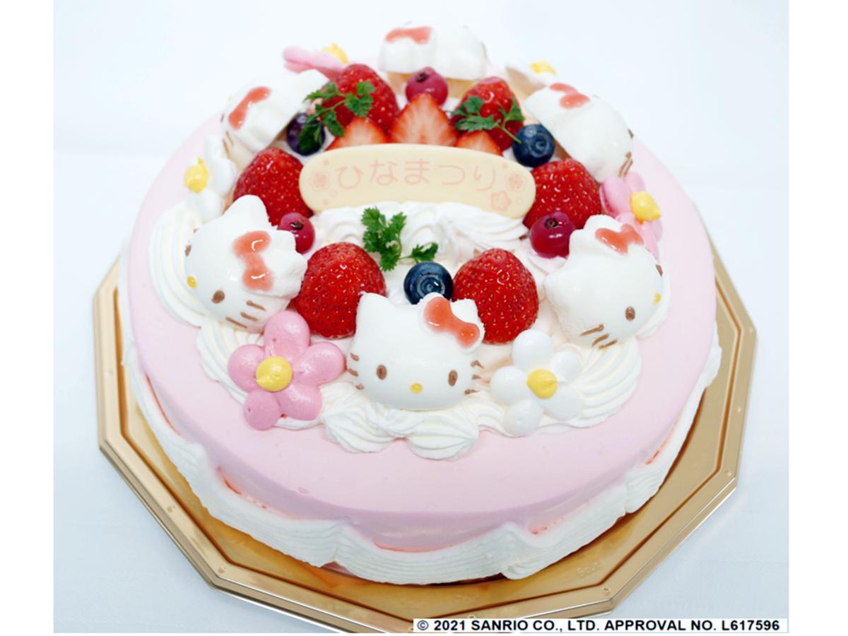 昨年初登場し、人気を集めた「ハローキティのひなまつりケーキ」。「『娘がよろこんだ』『かわいくて食べるのがもったいない』『箱を開けて思わず笑顔になった』など多くの声が届いた」と担当者