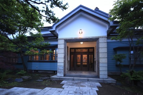先月、旭川市景観賞を受賞した国登録有形文化財 旧岡田邸