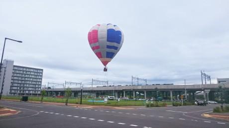 街中や北彩都ガーデン、大雪山連邦を望むことができる気球体験
