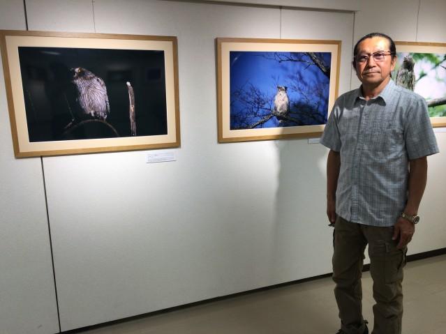 10年にわたってシマフクロウを追い続けてきた旭川市在住の写真家・田中博さん