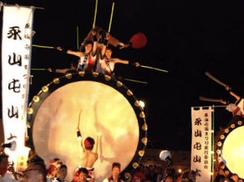 55回を迎える旭川夏祭りを記念して道北各地のあんどんまつりが旭川に集結