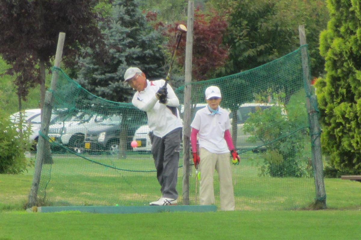 「パークゴルフ大会」昨年の様子