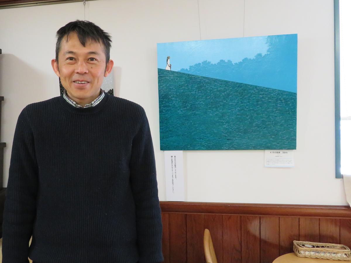画家・イラストレーターの三井ヤスシさん