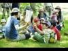 東川町で「木育フェスタ」 ツリーイング体験や積み木遊びなど