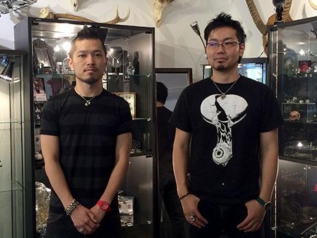 代表でデザイナーの古谷さん(右)と田口さん