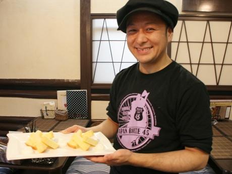 K's Cafe店主・パティシエの金野敬さん